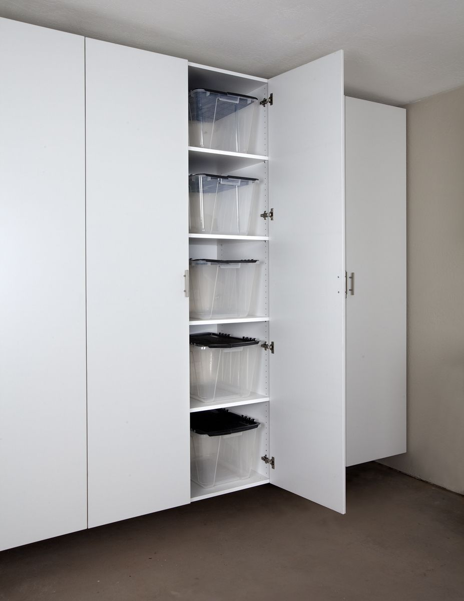 Palo Alto White Tall Garage Cabinet ~need These In My Garage