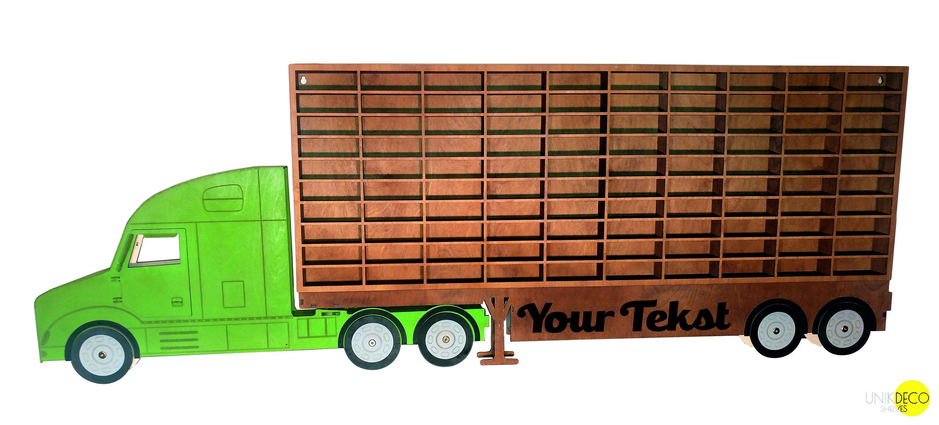 Toy Car Storage 81, 90 & 100 Sections, Shelf, Garage For Hot