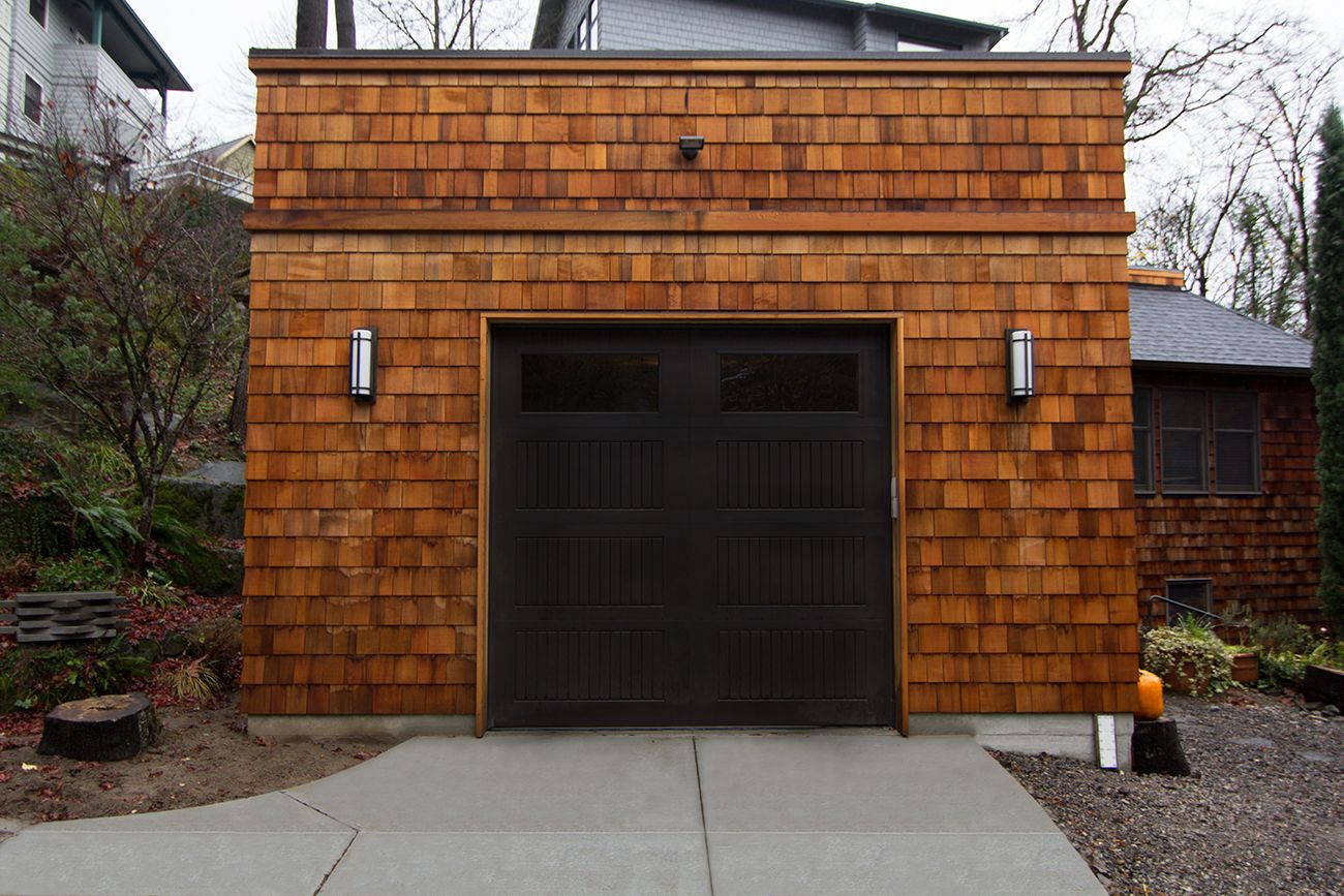 High Performance Garage Addition By Portland/seattle Home