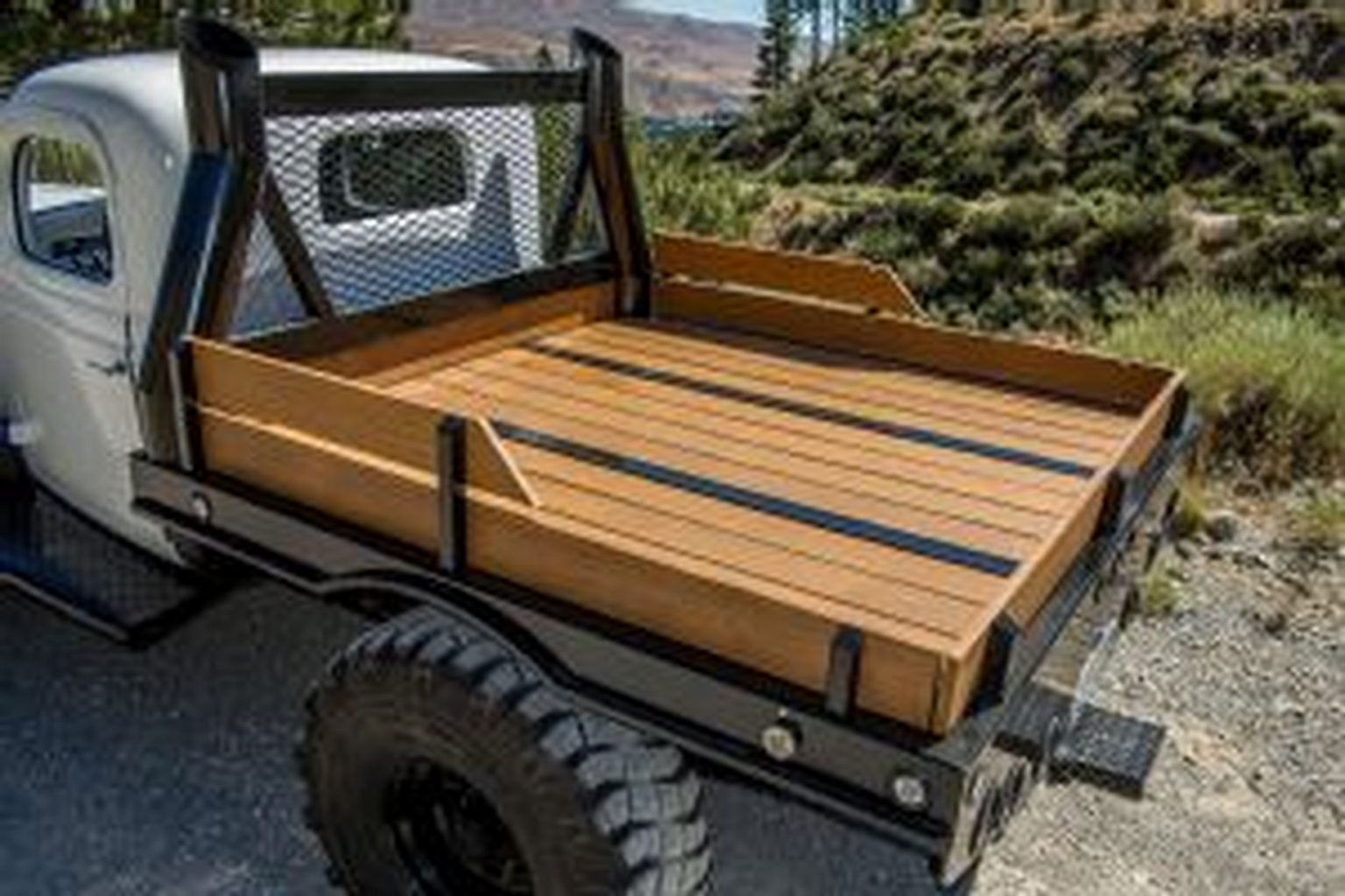 57+ Homemade Flatbed Truck Ideas And For You | Garage