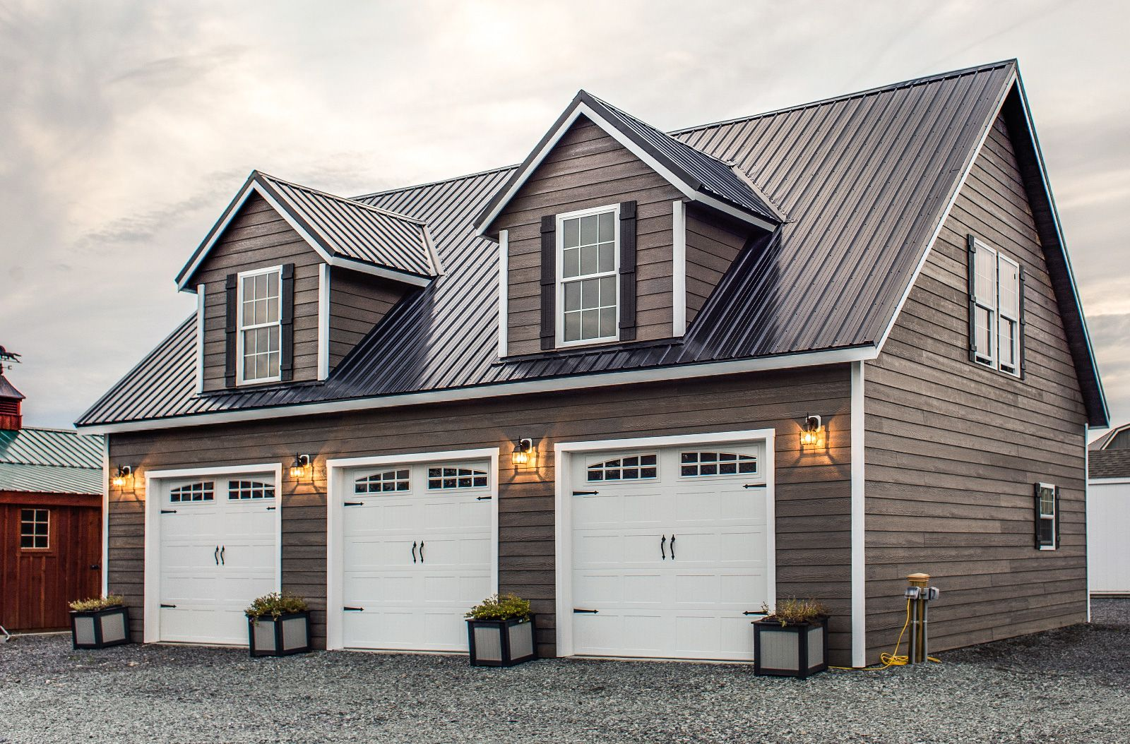 Two Story Deluxe - Prefab And Modular Garage | Prefab