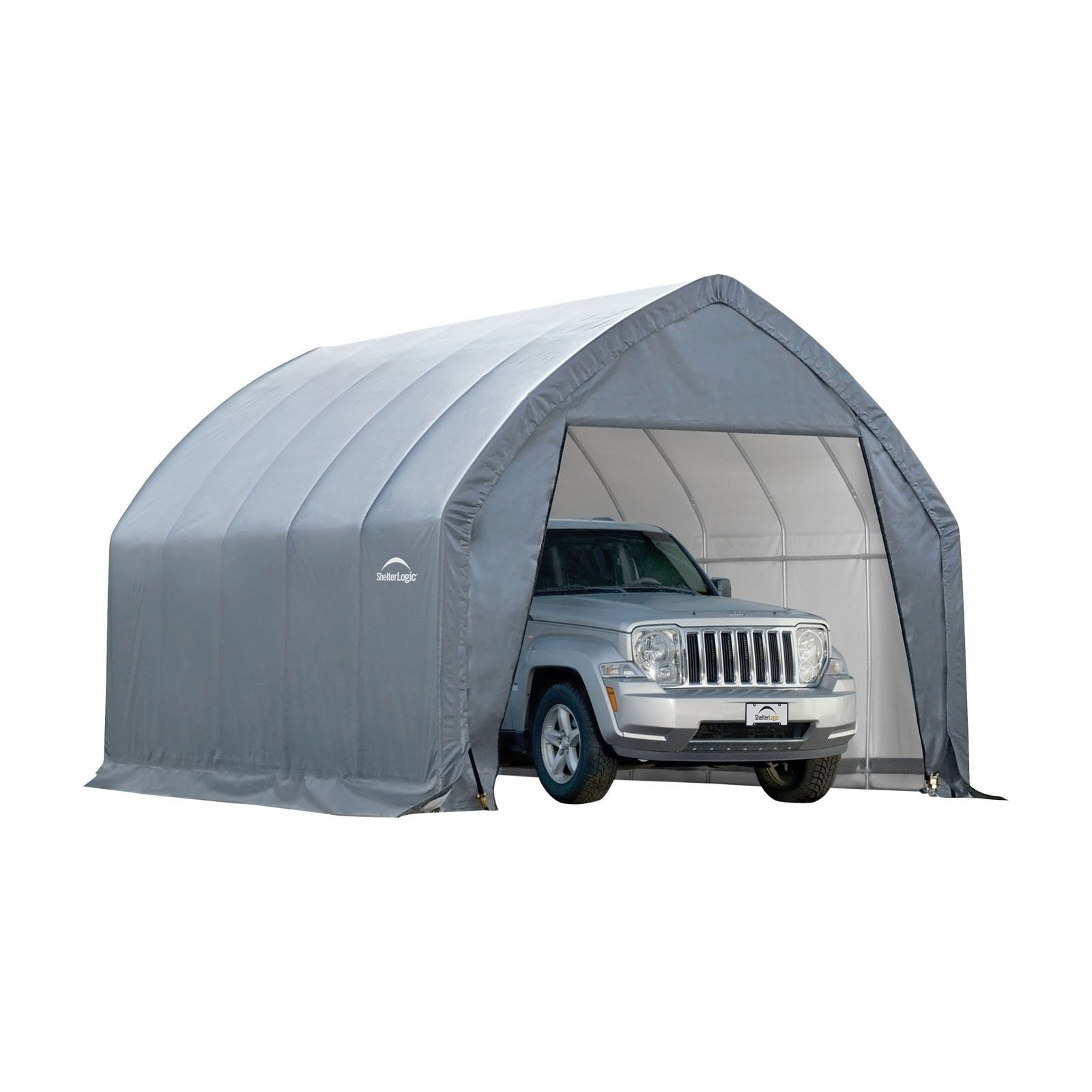 Shelter Logic 11 X 20 Ft Garage In A Box Crossover